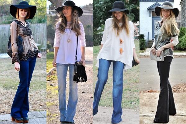 Berani pakai Flare Jeans? (dok. girlofstyle)