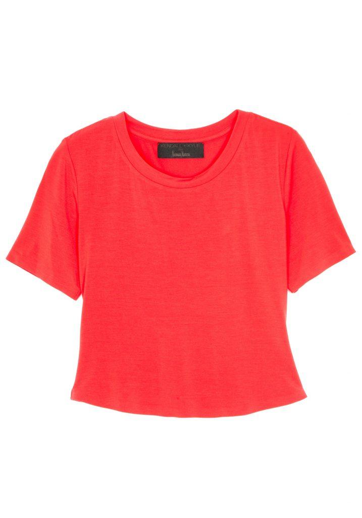 short sleeved crop t-shirt
